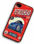 KOOLART PETROLHEAD SPEED SHOP Design For Retro Ford Sierra Saphire Cosworth Hard Case Cover For iPhone 4 4s